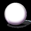 "HÓFEHÉR ""WHITE-BALL"" golyó képe"