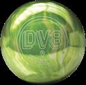 DV8 MISFIT GREEN-WHITE 14LB kanyargolyó képe