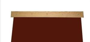 Golyófogó függöny fa tartó nélkül olajálló gumiborítással képe
