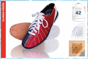 Bowling Classic Prémium Bőr Fűzős Cipő képe