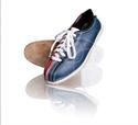 Bowling cipő ECO bőr, fűzős  képe