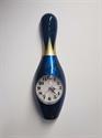 Bowling bábu falióra 60 cm-es kék képe