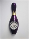 Bowling bábu falióra 60 cm-es lila képe